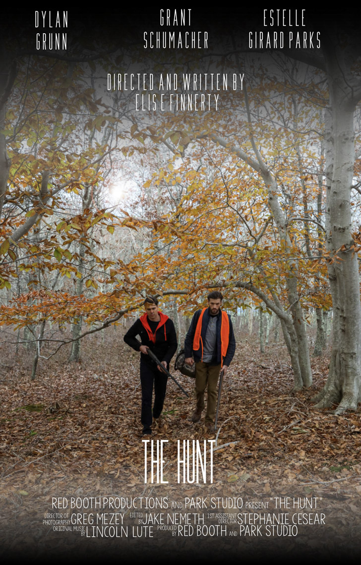 "Movie Poster ""The Hunt"""